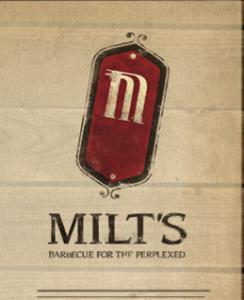 Milt's BBQ Logo