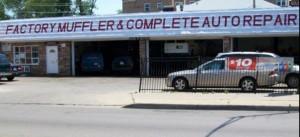 Factory Muffler Logo